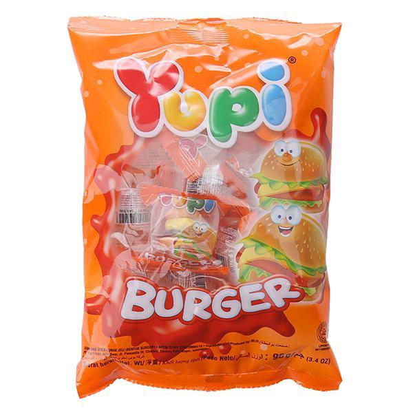 Kẹo Dẻo Yupi Burger Gói 96G