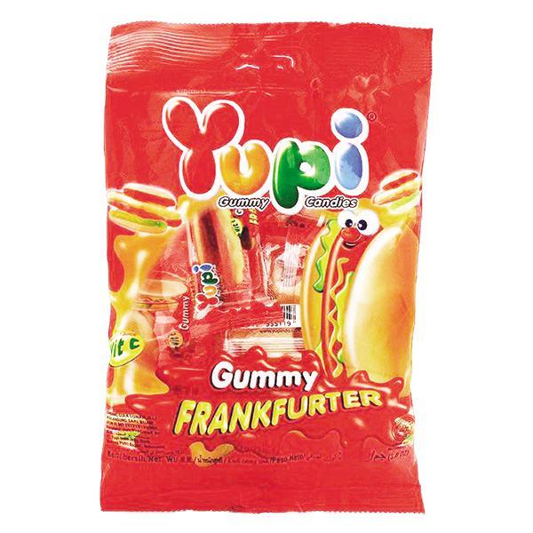 Kẹo Dẻo Yupi Frankfurter Gói 96G