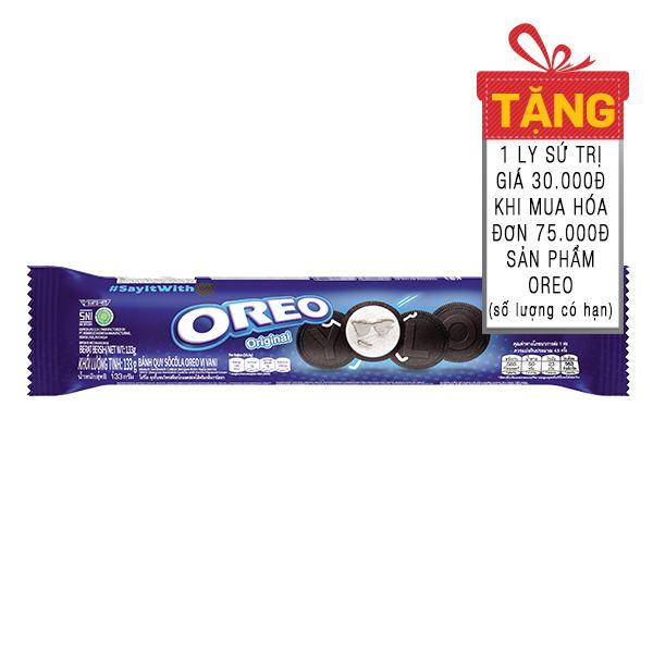 Bánh Oreo Quy Kem Vani 133G