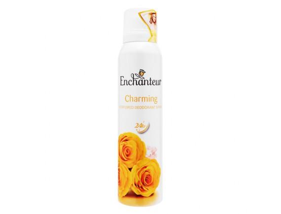 Xịt Khử Mùi Enchanteur Charming 150Ml