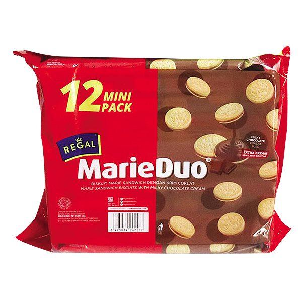 Bánh Quy Regal MarieDuo Kem Socola Gói 240G