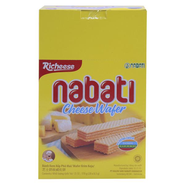 Bánh Xốp Nabati Hộp 20 Gói*7.5G