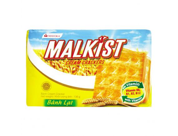 Bánh Quy Giòn Malkist Nhân Kem 135G