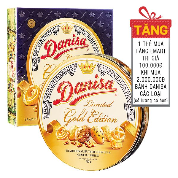 Bánh Quy Danisa Gold Edition Hộp 792G