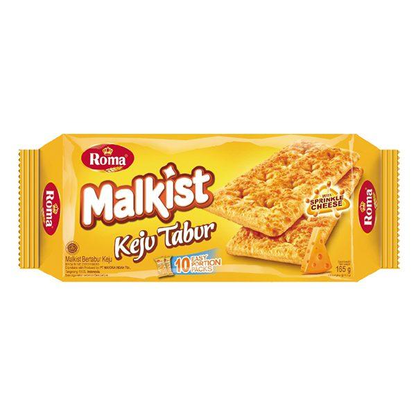 Bánh Quy Giòn Roma Malkist Phô Mai 165G