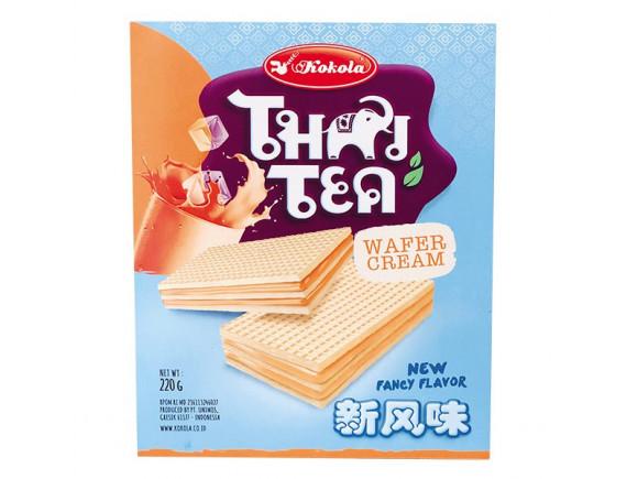 Bánh Xốp Kem Majestic Vị Trà Thái Hộp 220G
