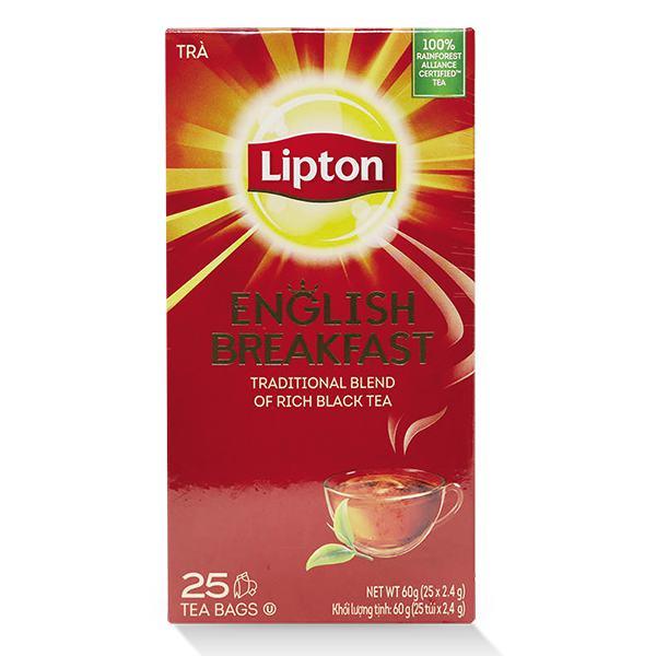 Trà Lipton English Breakfast 2.4G*25 Gói