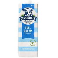 Sữa Tươi Tiệt Trùng Devondale Nguyên Kem Hộp Giấy 1L