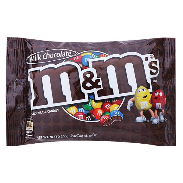 Kẹo Socola M&M Milk 200G