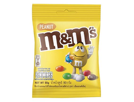 Kẹo Socola M&M's Peanut 90G