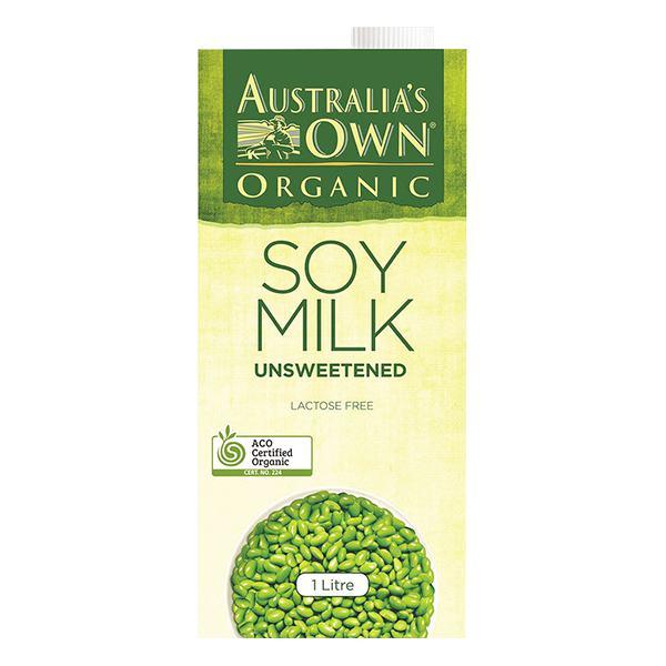 Sữa Đậu Nành Own Organic Không Đường 1L