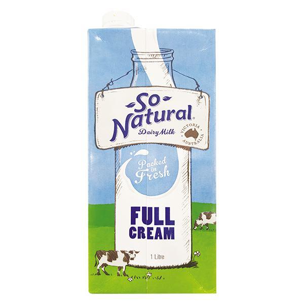 Sữa Tươi Tiệt Trùng IFSS So Natural Nguyên Kem 1L