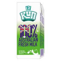 Sữa Tươi Tiệt Trùng Lif Kun Ít Đường Hộp Giấy 1L