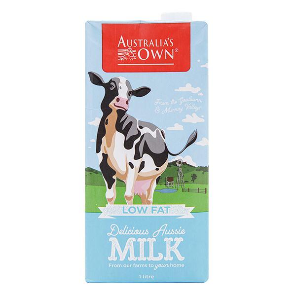 Sữa Tươi Tiệt Trùng Australia's Own Ít Béo Hộp 1L