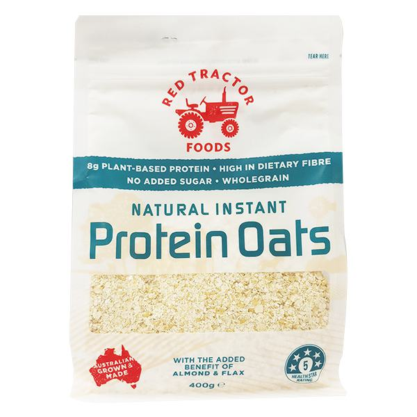 Yến Mạch Red Tractor Foods Protein Oats 400G