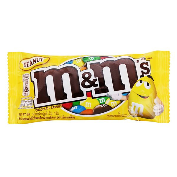 Kẹo Socola M&M's Peanut 37G