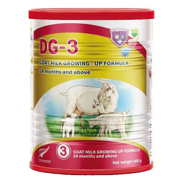 Sản Phẩm Dinh Dưỡng Sữa Dê DG-3 Hộp 400G