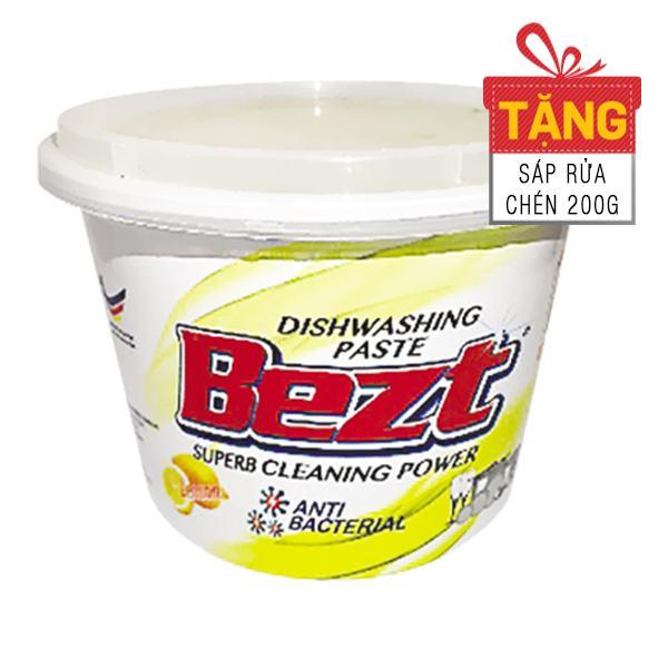 Sáp Rửa Chén Chanh Vàng Bezt Hộp 800G