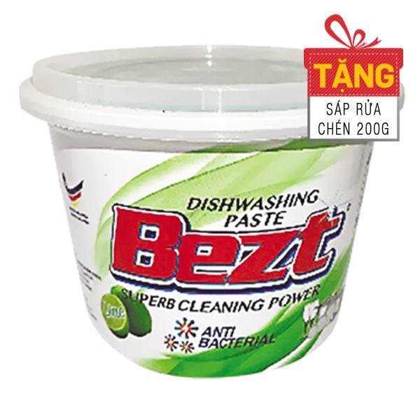 Sáp Rửa Chén Chanh Xanh Bezt Hộp 800G