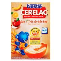Bột Ăn Dặm Nestle Cerelac Gạo & Trái Cây 200G