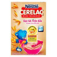 Bột Ăn Dặm Nestle Cerelac Gạo Lức Trộn Sữa 200G