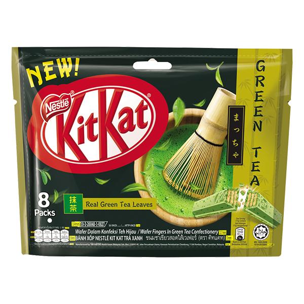 Socola Kitkat Trà Xanh 2F Gói 17G*8
