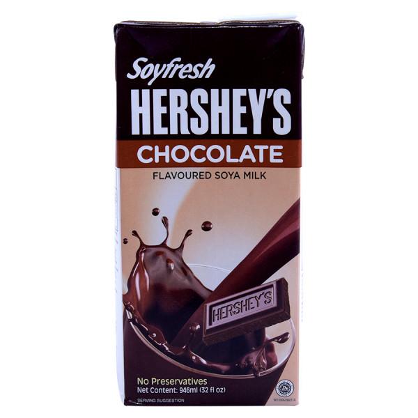 Sữa Đậu Nành Hershey Socola Hộp Giấy 946Ml