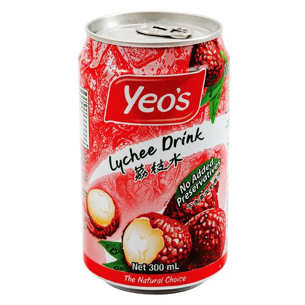 Nước Trái Cây Yeo's Vải 300Ml