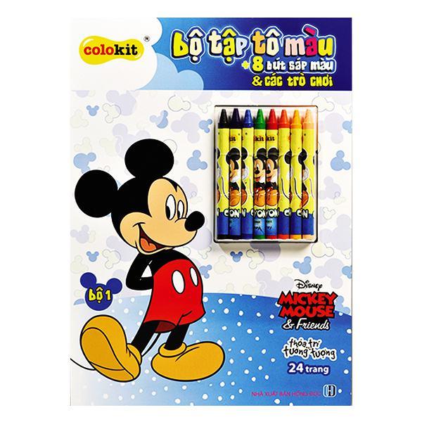 Bộ Tập Tô Màu Mickey CB-C019